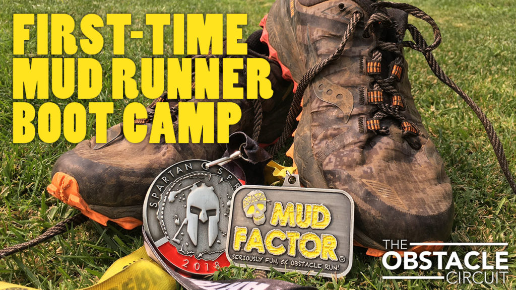 First-Time Mud Runner Mud Factor Training Boot Camp