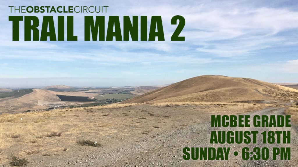 Trail Mania 2 Sunday Special Class
