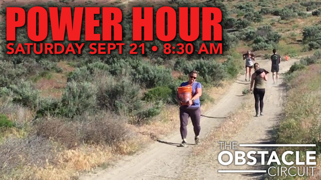 The Obstacle Circuit Power Hour Special Class