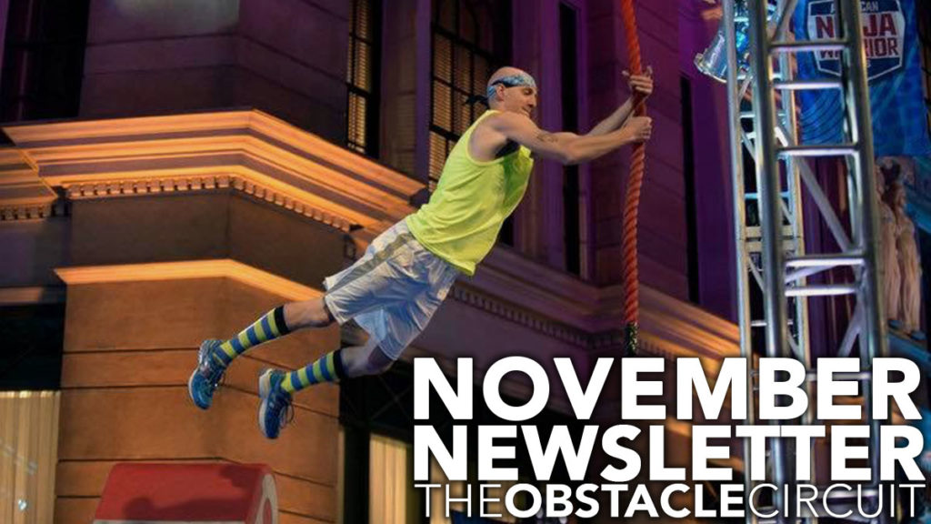 The Obstacle Circuit November Newsletter