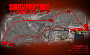 Survive or Die 2019 Course Map