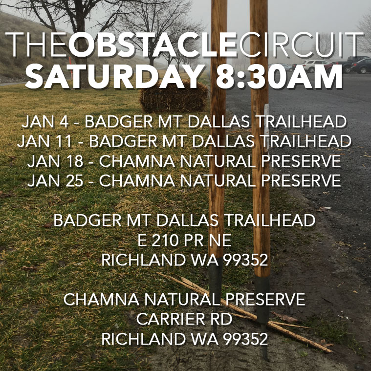 The Obstacle Circuit Fitness Class Schedule January 2020