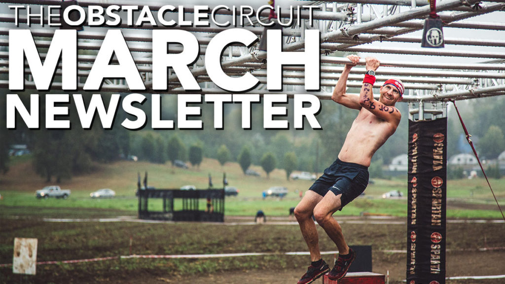 The Obstacle Circuit March 2020 Newsletter