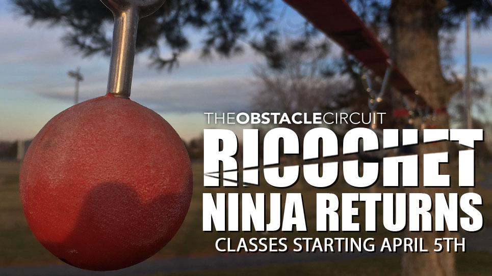 Ricochet Ninja Classes for Kids Returning April 2021